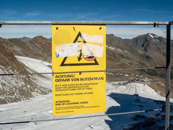 Jane's Visit, Oct. 2019: Birthday Trip to Stubai Glacier