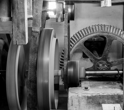 We took a tour of the mill | Egenhofen, Bayern, Deutschland
