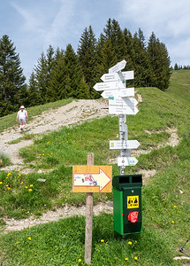 Our hike to Bolsterlanger Horn was shortened because of the weather | Bolsterlang, Bayern, Deutschland