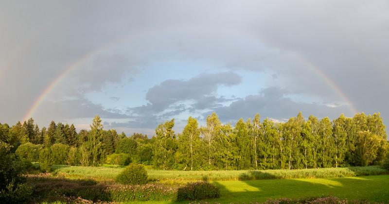 Rainbow after the storm | Augsburg, Bayern, Deutschland