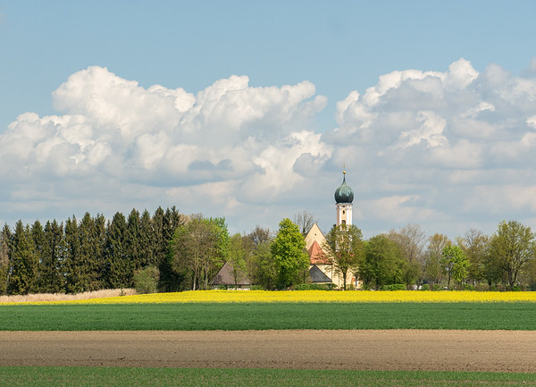 A beautiful ride through the countryside east of home | Prittriching, Bayern, Deutschland