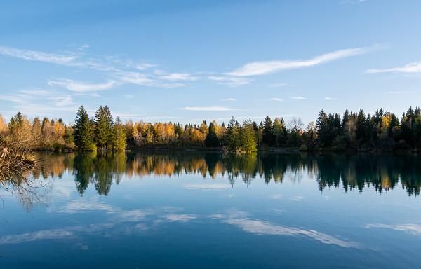 A Halloween day bike tour with beautiful fall colors   Schmiechen, Bayern, Deutschland