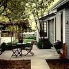 New, tiny patio circa 1995