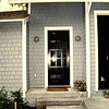 Great room door with original step configuration