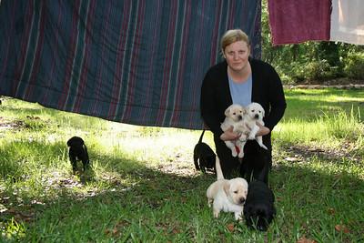 Paula and Pups