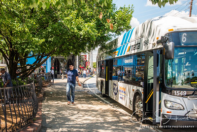 Marta Bus Stops at Little 5 Points