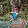 Zip-lining at Sky Trek Park, Monte Verde