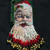 Santa Clause necklace  beaded by Jackie Graham. Aug 7, 2012.