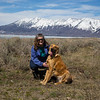 Enzo with Donna Perdue, Henry's Lake, Idaho