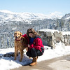Enzo and Donna, Donner Pass, California