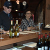 Donnie & Deb tasting at Martinelli