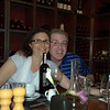 Deb & Donnie - dinner in the wine cellar at Baci in Healdsburg. Fabulous way to start a vacation.