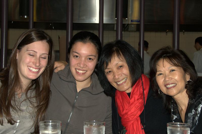 Jennifer, Lisa, Ellen, Rose