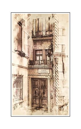 Venice Sketch - doorway