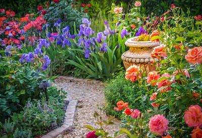 Cher's Garden  w/Urn