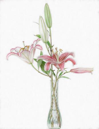 High Key Lilies