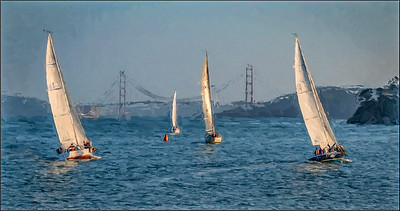 08-07-15  Sailboats & GG Bridge