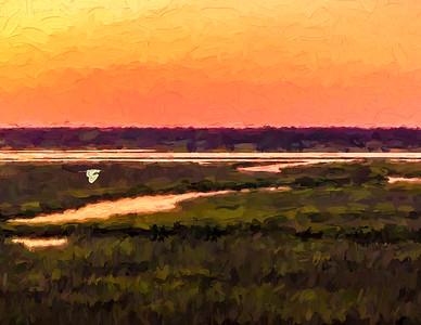 May 23, 2016 Sunset off Bunnies Deck