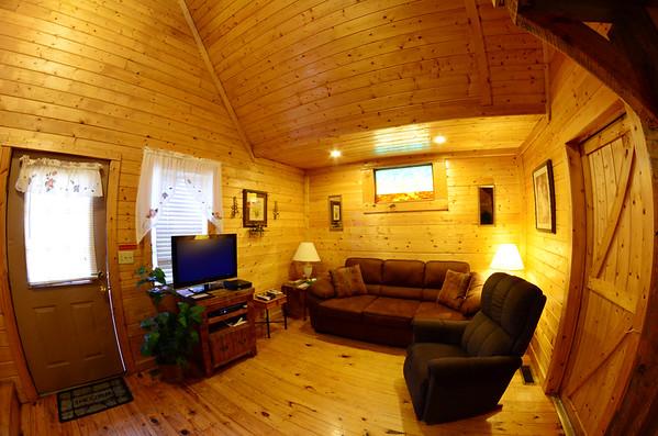 Comfy living room area.