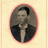 """Photo (in bad condition) of my great-grandmother's Brother, Benjamin Bussey """"Benny"""" Prothro, born 1859, and died 1922. This looks about 18 years old, so probably taken near 1877.  My great-grandmother was Mary Abbie Corinne Prothro, who lived from 1853 to 1920."""