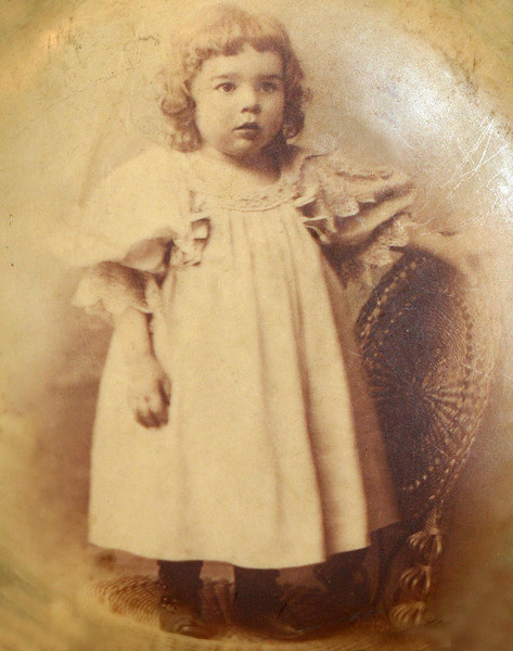 I believe this is my Grandmother Vera Crandall. My mother's mom.
