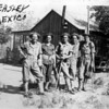 Camp Beasley, New Mexico. My dad, Emon C Perdue is in center.