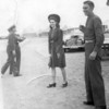 I'd love to know who the pretty women next to my Dad is! This was probably at Fort Bliss in Texas. Probably in early 1941.