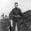 My dad, Emon Perdue in his Sentry uniform outside Dutch Harbor in World War II. He was part of the 206th Coast Artillery Regiment from El Dorado, Arkansas.