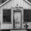 Post Office on island of Unalaska, Aleutian chain, Alaska during occupation by US Forces in 1941-43.