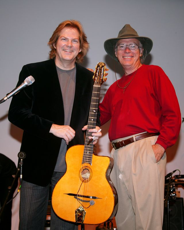 John Jorgenson and myself in Nashville at concert.  This is my  brothers best friend from college. He's a great musician!