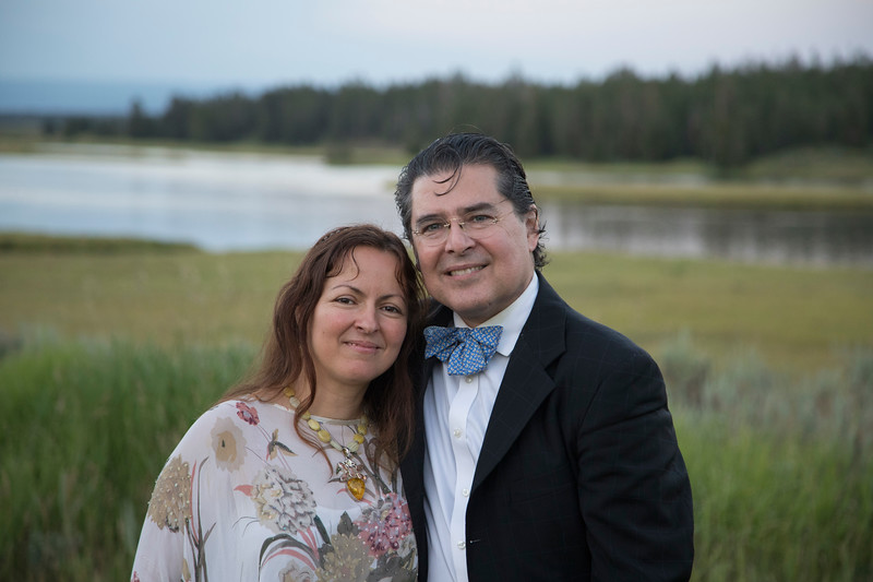 Eric and Lida Grossman in Harriman State Park