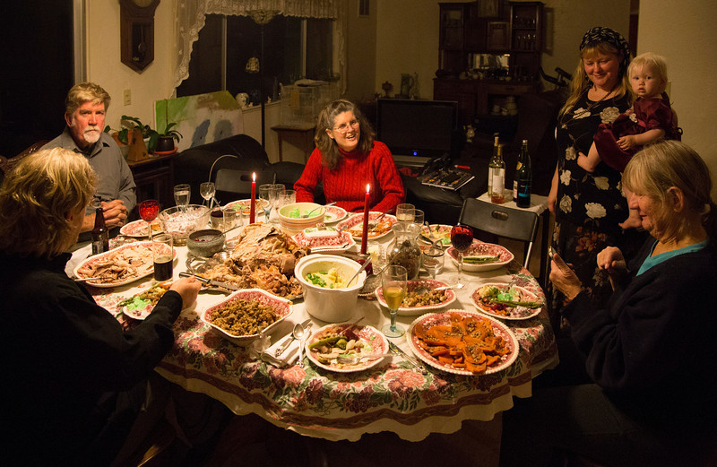 Thanksgiving at the Kibbe's