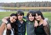 Vera, Mischa, Alexander (Sasha), Cecilia Grossman