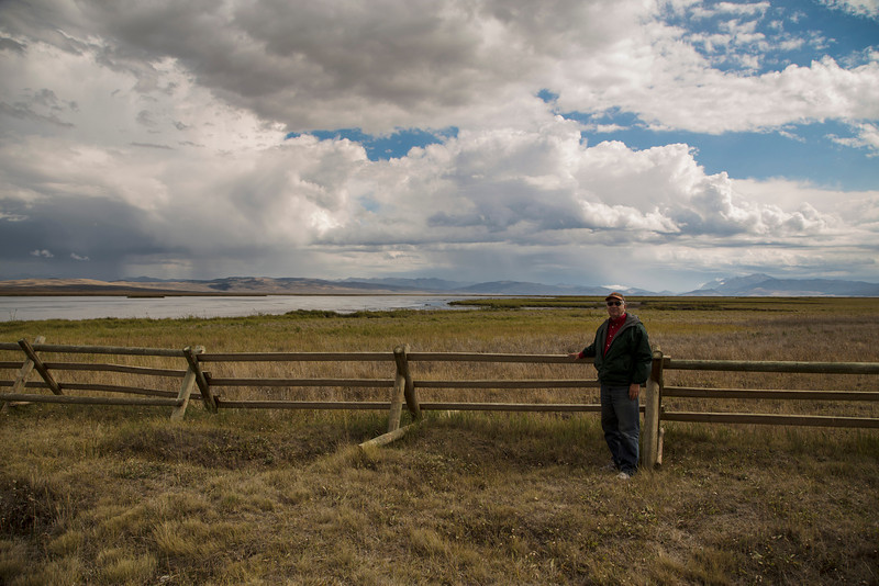 Steve Jay at Red Rock Lakes National Wildlife Refuge in Montana on Sept 17, 2013.