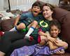 Jerritt, Amanda Perdue and Alanna on March 12, 2012.