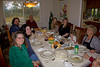 Thanksgiving dinner with the Cox and Perdue families in Gilroy, CA, 2011.  What a great meal!!!! Thanks Marcia! Danielle actually looks better than this in person!  Granddaughter Chloe is acting her normal coy self.