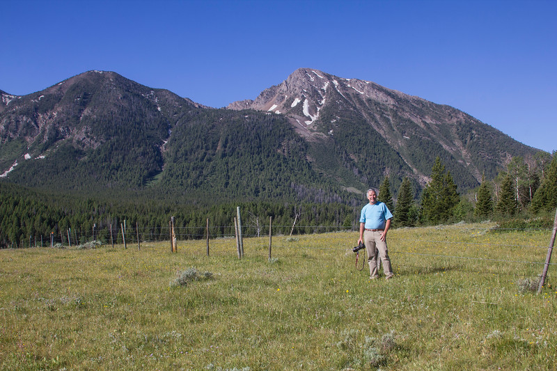 Doug Wenger with Mt. Nemesis, RRLNWR