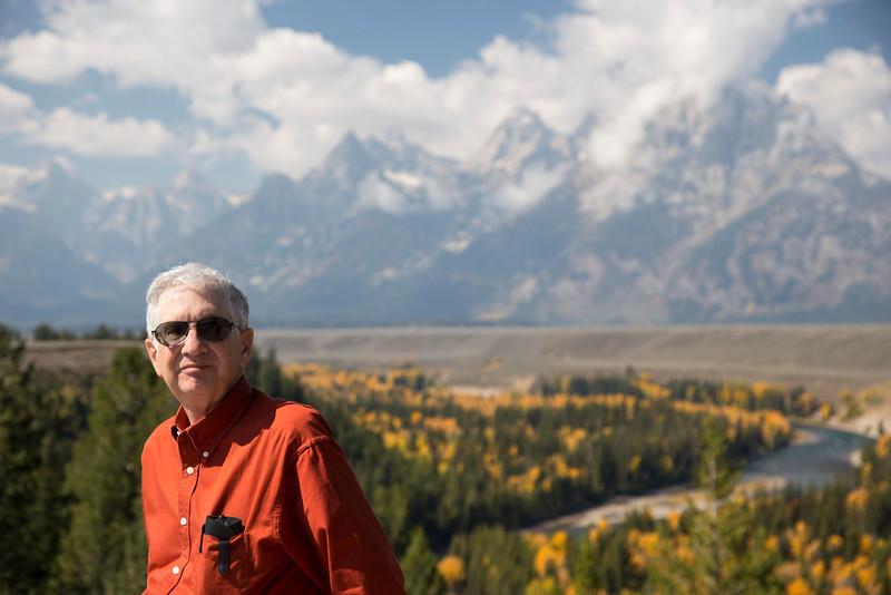 Steve Jay in Tetons