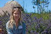 """Louisa P. Carter, an assistant professor of Eco-psychology at the University of Utah is """"artist in residence"""" at the Center for Earth Concerns in Lakeview, Montana this summer. Aug 4, 2012."""