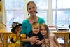Hanna Favella and kids
