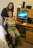 Donna and her aunt Namoi in her new Riverside, CA apartment. April 9, 2013