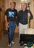 """Michael Kibbe and John Lasser in my motorhome """"classical jamming"""". Feb 2008"""