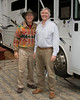 Newt and Doug Wenger in Felton, CA Nov 2007