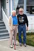 Mr. Hugh Ferguson and John Perdue in Hemet, CA. March 2013. Hugh is a family friend since John was probably 4 years old. Hugh is 94 here.