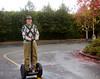 My last Segway ride. I sold it a few minutes later! Nov 2012
