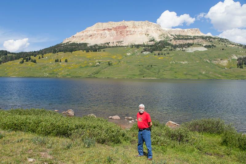 Bob Young, Beartooth Butte and Lake