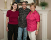Donna D. Perdue, her brother Bobby Dilks and sister-in-law Sue Dilks. Jan 2013