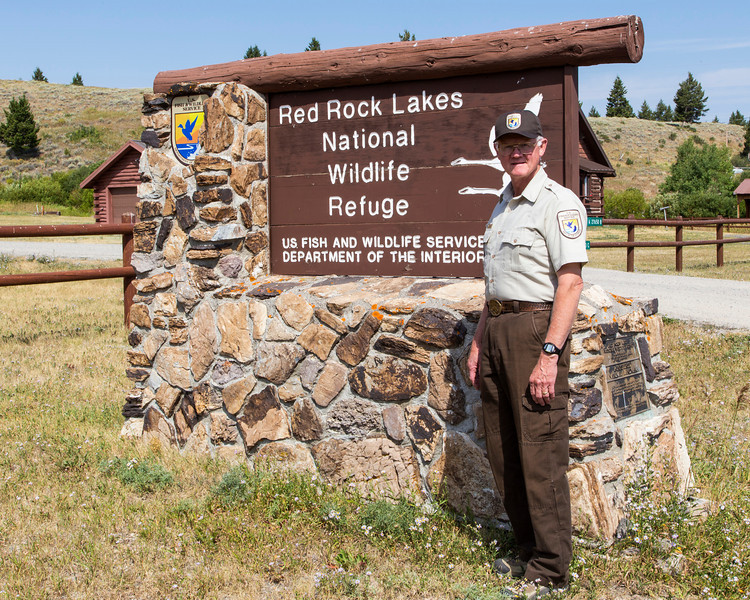 Bill West of Red Rock Lakes National Wildlife Refuge. 2013