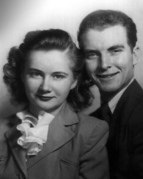Alice and Ty Glenn (1940's) in San Francisco.
