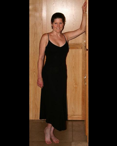 Grandma Donna Perdue after dress shopping in Mesa, AZ. March 31, 2007